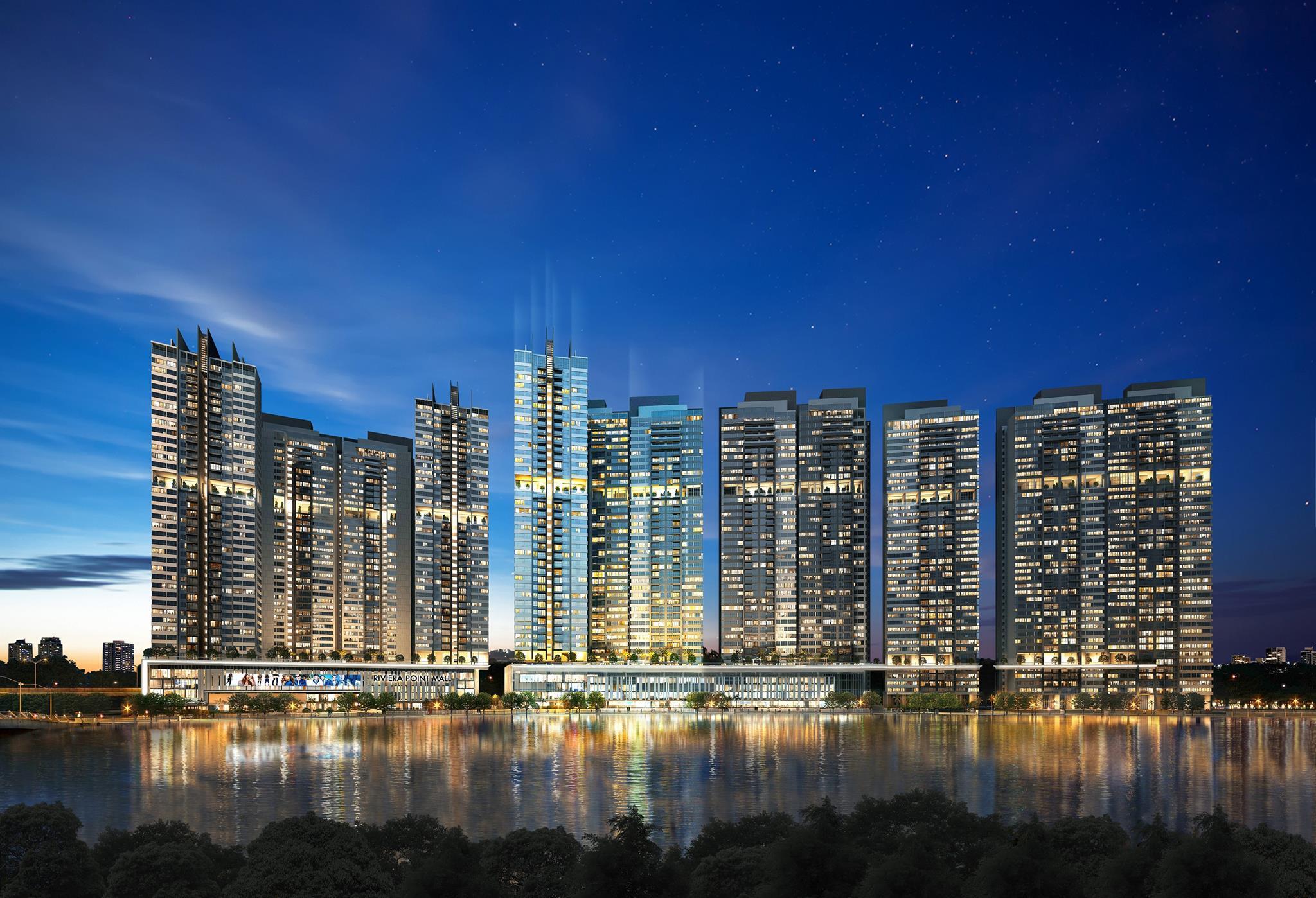 The View at Riviera Point chỉ thanh toán 30% nhận căn hộ ở ngay, chỉ từ 29 triệu / m2