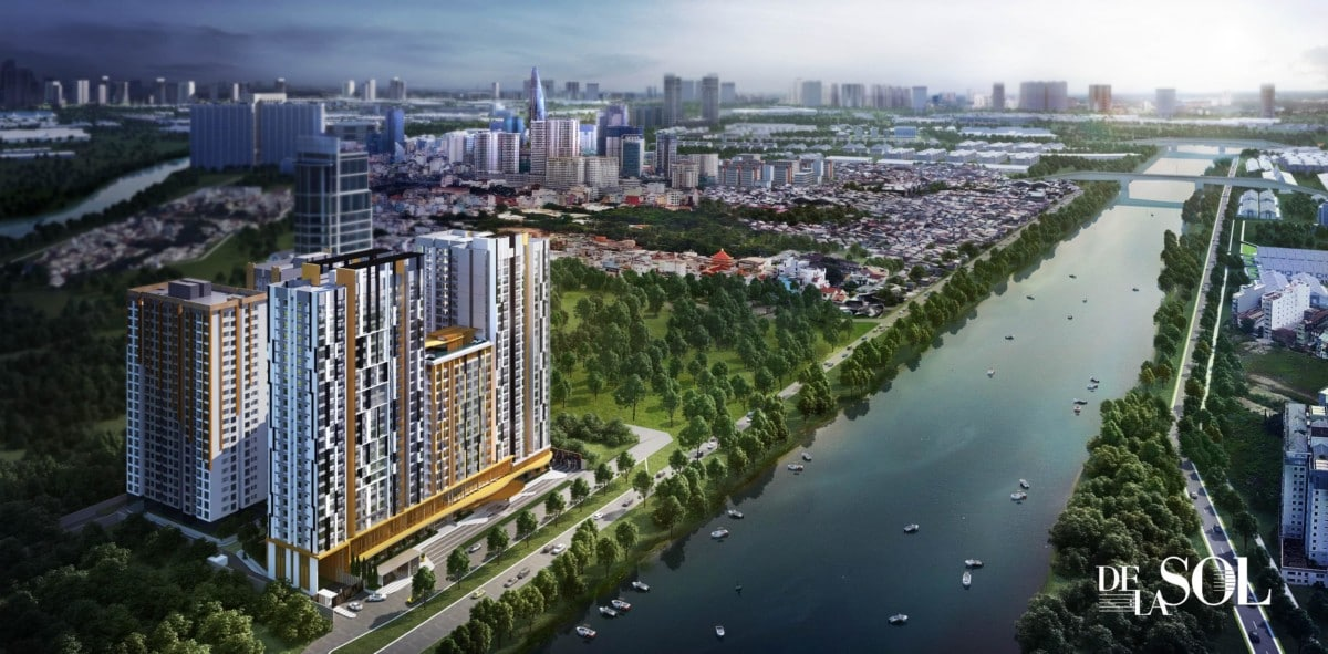 DELASOL CAPITALAND District 4 – 3000~3500 USD/m2