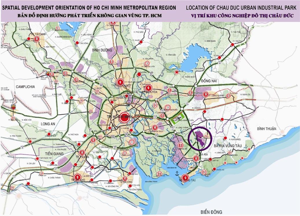 Chau Duc IP - spatial orientation development map - Ban do dinh huong phat trien khong gian vung - email