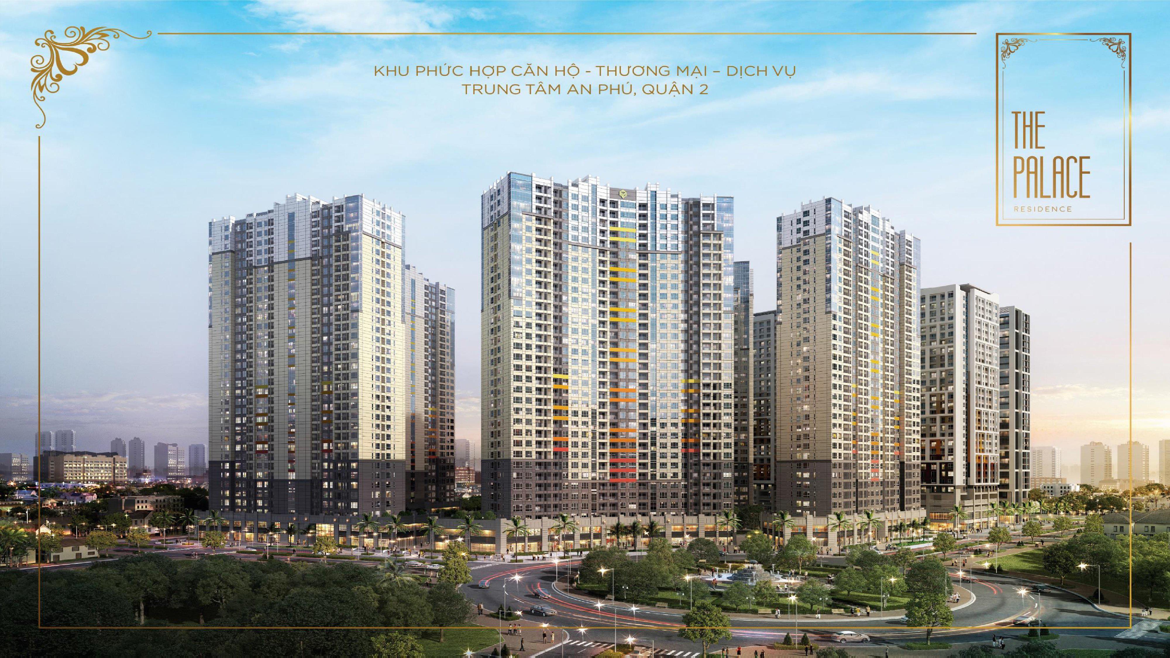 THE PALACE RESIDENCE Quận 2 chỉ từ 60 Triệu/m2